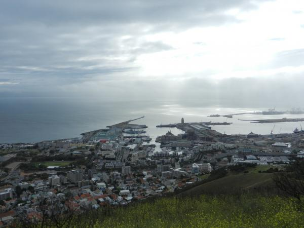 View of the Waterfront from Signal Hill