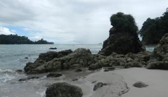 Beach at Manuel Antonio