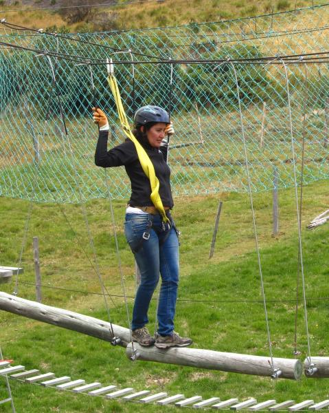 Betty, Ropes Course at El Porvenir