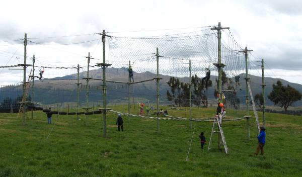 Ropes Course at El Porvenir