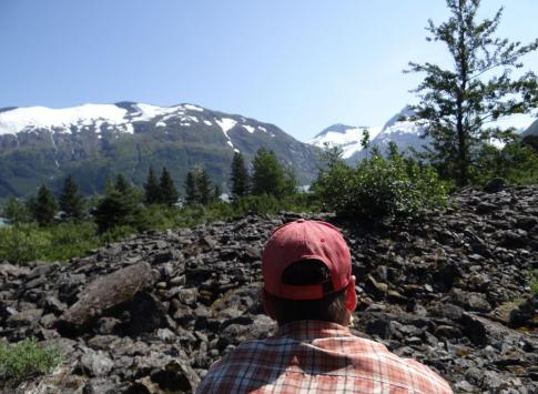 Gazing into Alaska wilderness