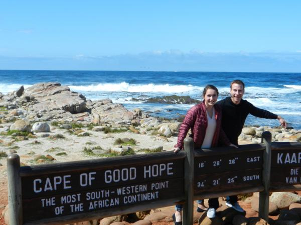 The Cape of Good Hope sign