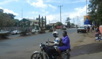 Motorcycle taxi in Moshi