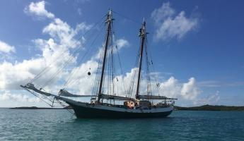 The Liberty Clipper in the Bahamas