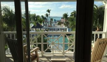 Our balcony on Harbour Island