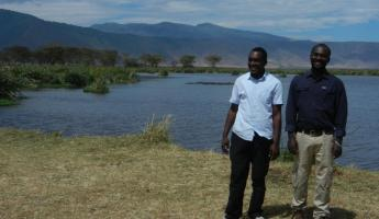 On the right is our amazing guide, Amani
