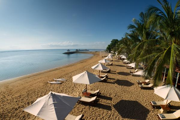 Relax on Sanur Beach in Bali