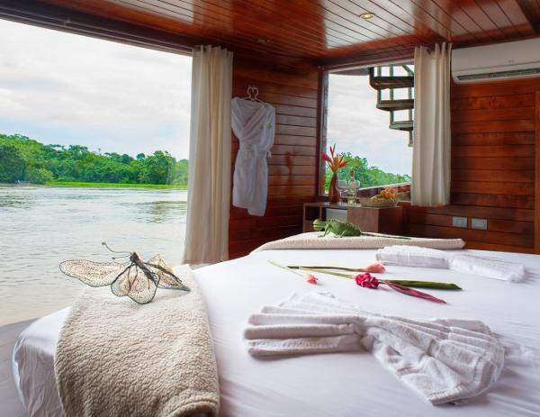 Suite on board the Cattleya Journey