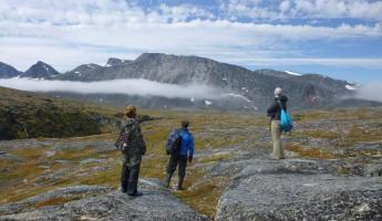 Hiking in Torngat