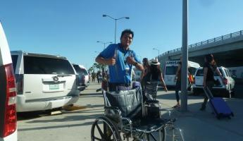 Our Wheelchair Airport Assistant