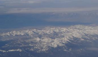 Mountains from the Plane Window