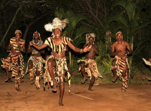 Sebenze Dance Group at Gorges Lodge
