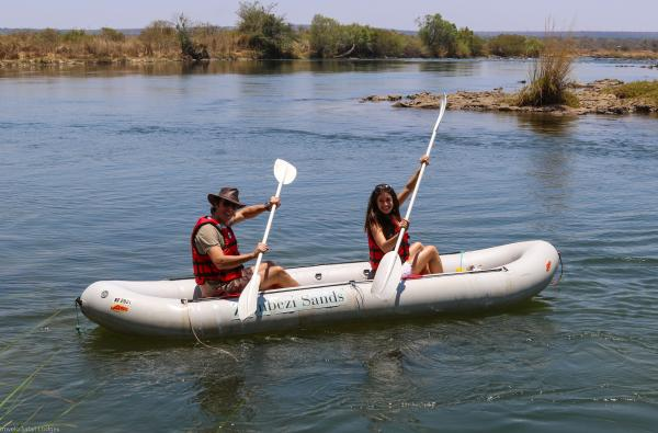 Zambezi Sands inflatable canoes