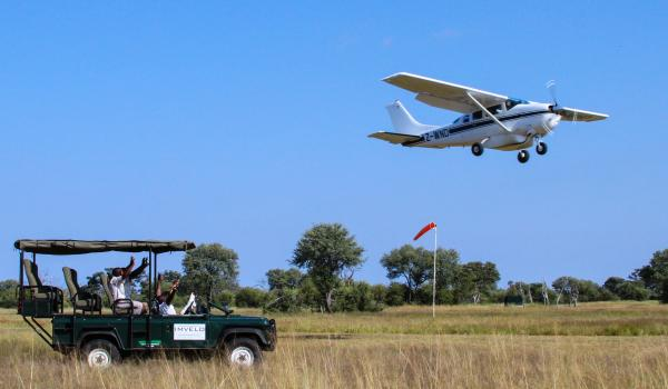 Fly into Bomani Airstrip starting in dry season