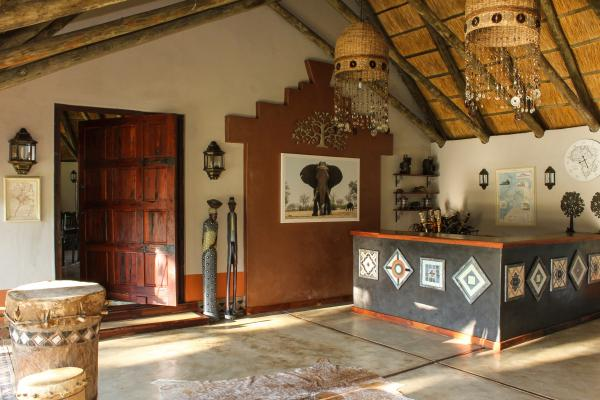 Reception area at Camelthorn