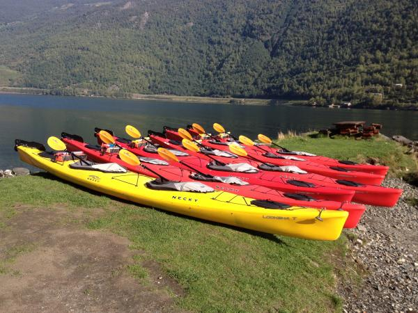 Kayaking on the Sognefjord