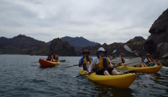 Kayaking in Baja