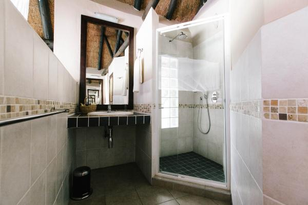 Spacious ensuite bathrooms