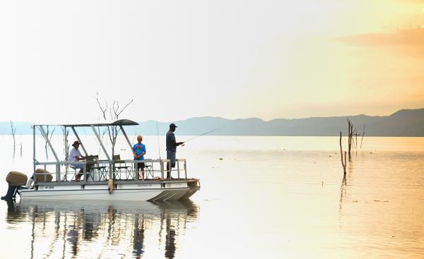 Fishing safari on Lake Kariba