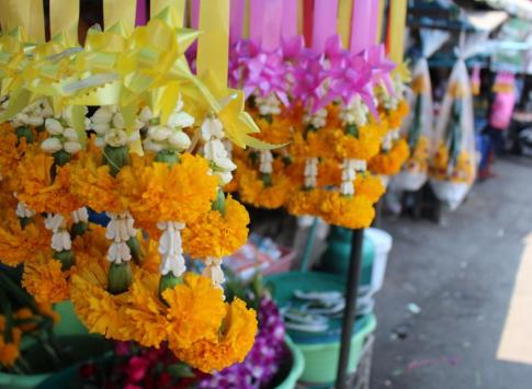 Flowers at the Mae Klong Market
