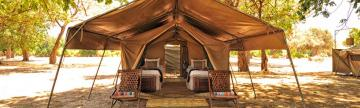 Tented accommodations